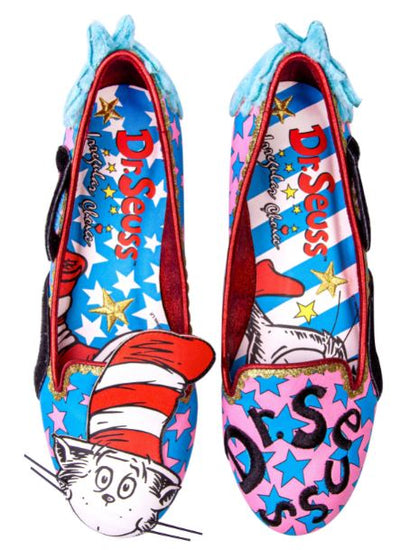 Irregular Choice Cat In The Hat Dr Seuss