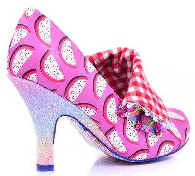 Irregular Choice Flick Flack Watermelon