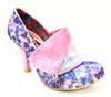 Irregular Choice Flick Flack Purple Floral