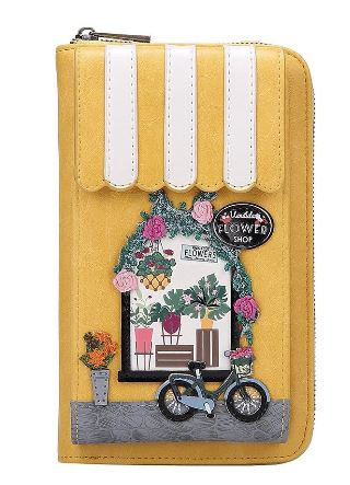 Vendula Flower Shop Phone Wallet