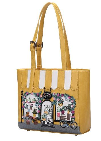 Vendula Flower Shop Shopper Bag