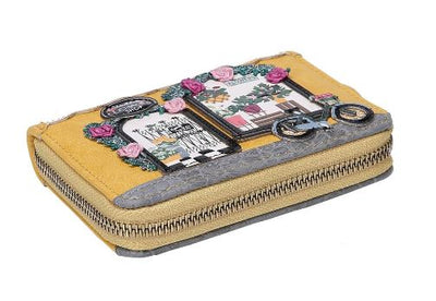 Vendula Flower Shop Small Zip Around Wallet