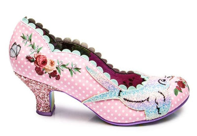 Irregular Choice Fly Free Pink