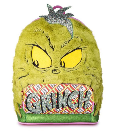 Irregular Choice Grinch Green and Hairy