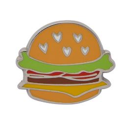 Erstwilder EP Hearty Hamburger Enamel Piin