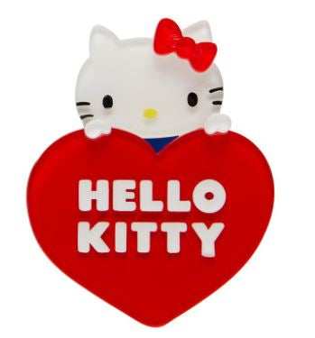 Erstwilder HK Hello Kitty Heart Brooch