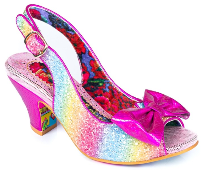 Irregular Choice Hiya Synth Pink