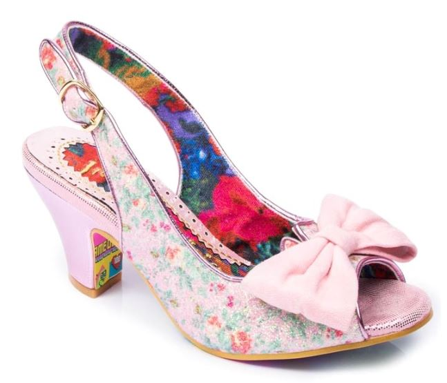 Irregular Choice Hiya Synth Pink Floral