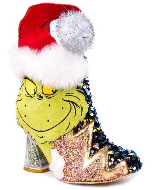 Irregular Choice Grinch Holiday Intolerant