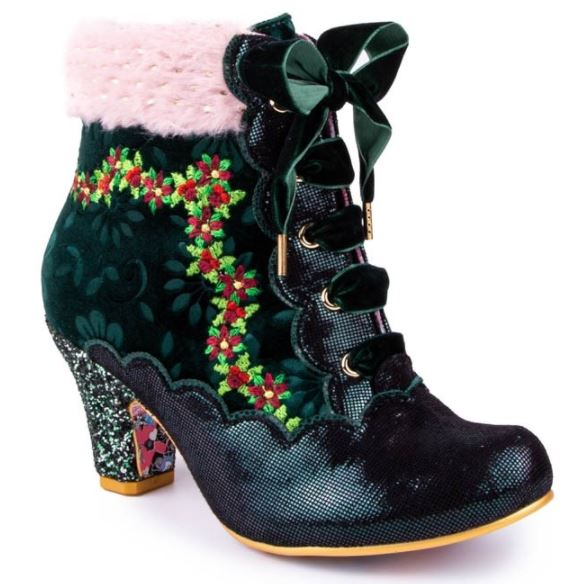 Irregular Choice Party Hot Toddy Green