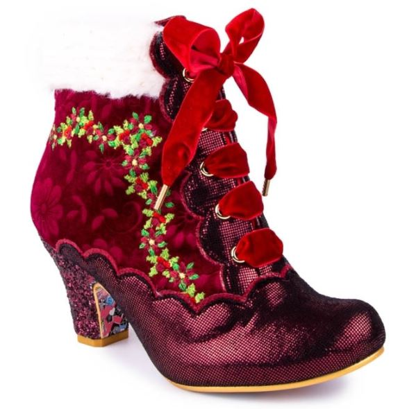 Irregular Choice Party Hot Toddy Bordo Red