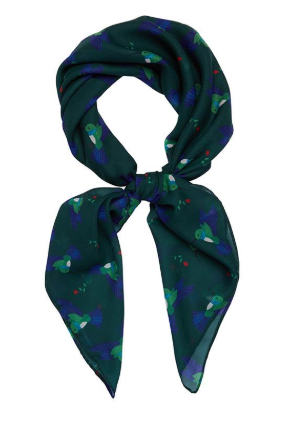 Erstwilder FF20B Hyacinth The Hummingbird Head Scarf
