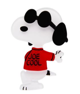 Erstwilder Peanuts Joe Cool Brooch