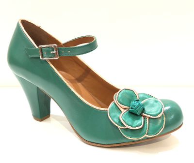Cristofoli Juliet Green with Rose Gold