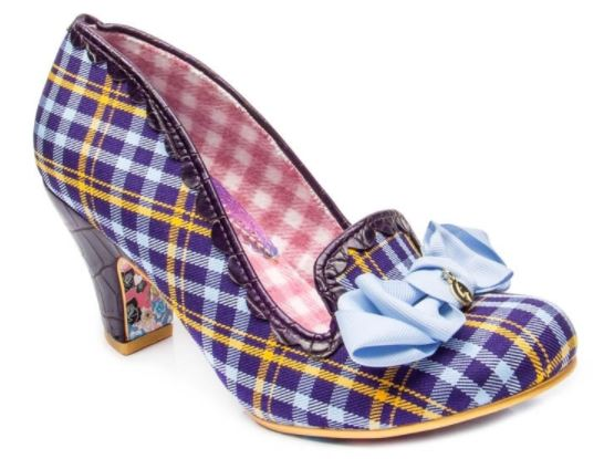 Irregular Choice Kanjanka Blue