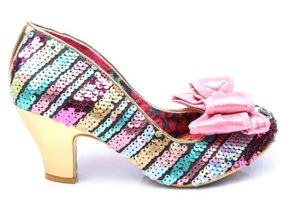 Irregular Choice Lady Ban Joe Multi Sequins