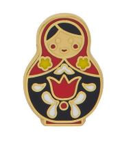 Erstwilder EP Matryoshka Memories Red Small Enamel Pin