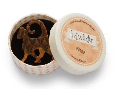 Erstwilder Mini On the Prowl Brooch