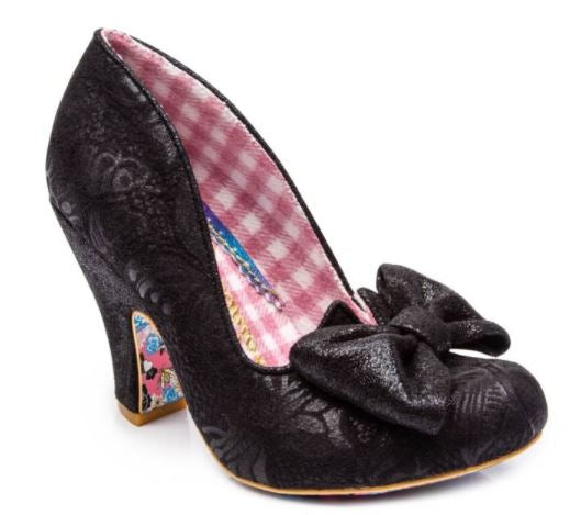 Irregular Choice Nick of Time Black