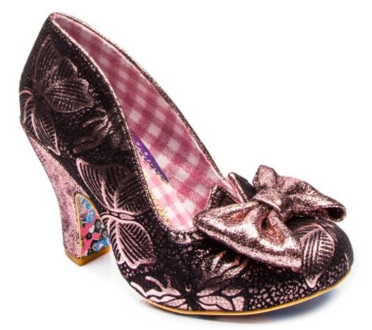 Irregular Choice Nick of Time Pink