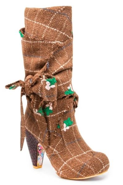 Irregular Choice Party Pants Brown