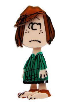 Erstwilder Peanuts Peppermint Patty Brooch