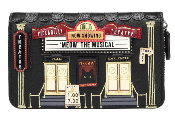 Vendula Piccadilly Theatre Medium Ziparound Wallet