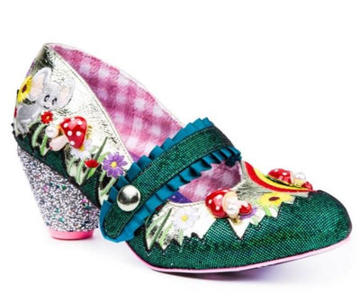 Irregular Choice Fun and Games Pipsqueak Green