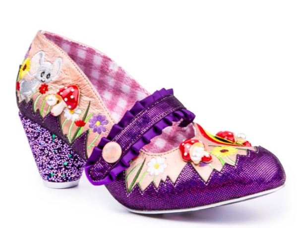 Irregular Choice Fun and Games Pipsqueak Purple