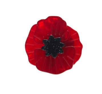 Erstwilder Remembrance Poppy Field Mini Brooch