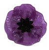 Erstwilder Poppy Field Brooch Purple