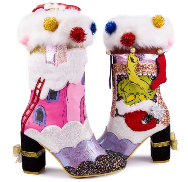 Irregular Choice Grinch Im Here For The Presents