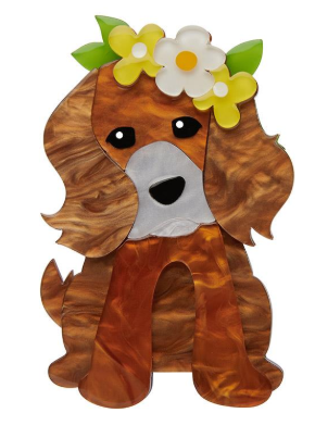Erstwilder Easter Puppy Love Brooch