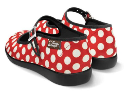 Chocolaticas Red Polka
