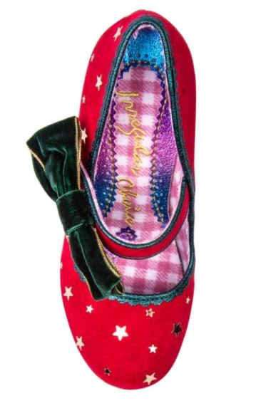 Irregular Choice Party Robin Red
