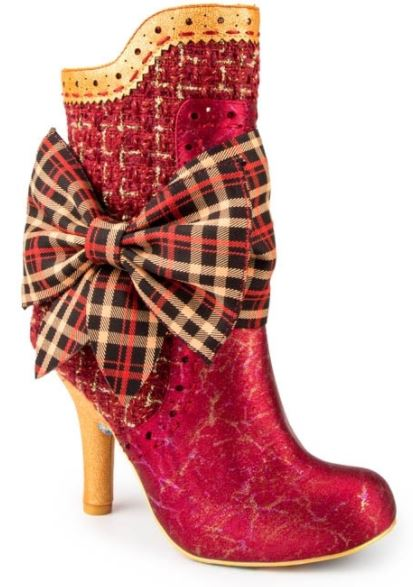 Irregular Choice Party Rosie Lea Red