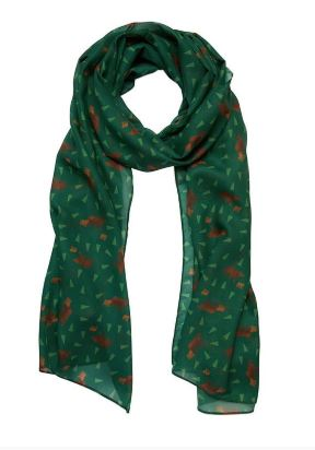 Erstwilder Woodland Mama Bear Large Neck Scarf