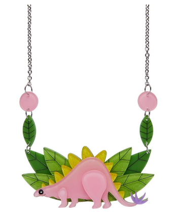 Erstwilder FF20B Scotty Stegosaurus Necklace