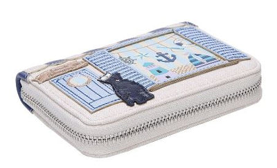 Vendula Seaside Souvenier Small Zip Around Wallet