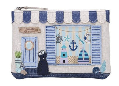 Vendula Seaside Souvenier Zipper Coin Purse