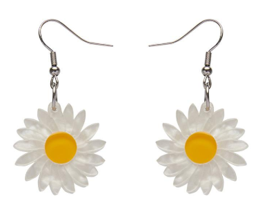 Erstwilder FF20B She Loves Me Daisy Drop Earrings