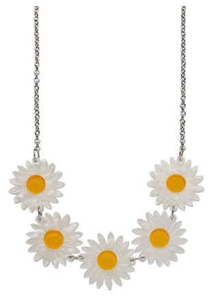 Erstwilder FF20B She Loves Me Daisy Necklace
