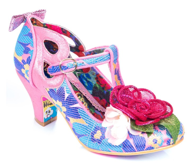 Irregular Choice Sleepy Jean Pink