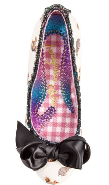 Irregular Choice Slinky Dink Forest Friends Cream