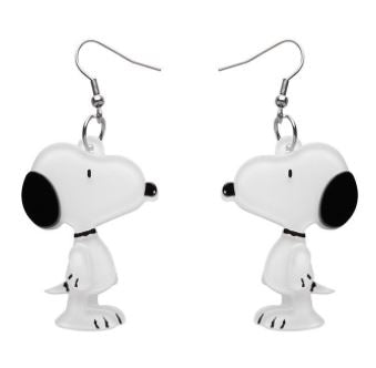 Erstwilder Peanuts Snoopy Drop Earrings