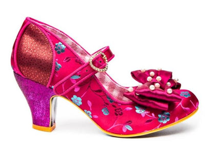 Irregular Choice Snow Drop Bordo