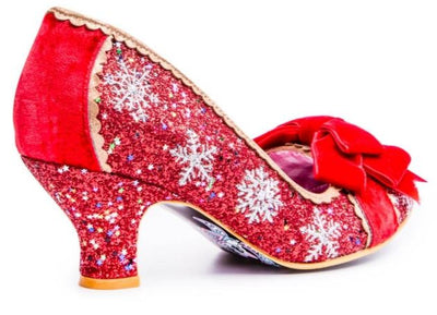 Irregular Choice Party Snow Queen Red