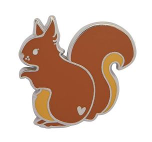 Erstwilder EP Scupulous Squirrel Enamel Pin