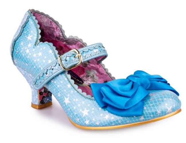 Irregular Choice Summer Breeze Stars Blue