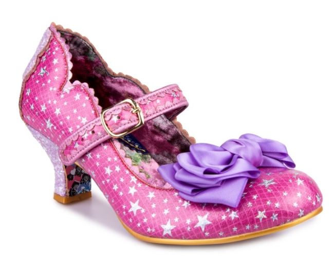 Irregular Choice Summer Breeze Stars Pink